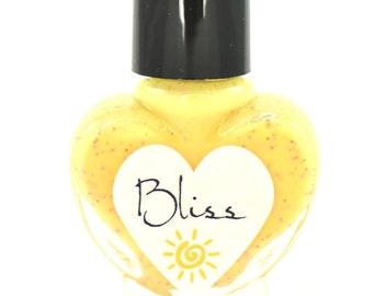 Bliss Yellow Nail Polish 5ml Mini Bottle