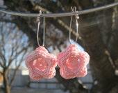 3 Layer Flower Earrings
