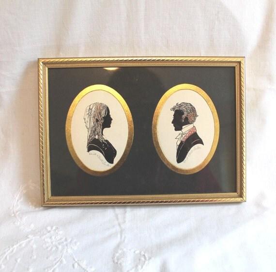 Enid Elliott Linder Silhouette Pennyfarthing galleries Torquay England