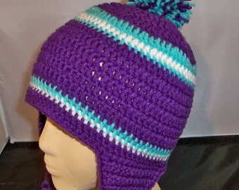 Men or Women Sports beanie with or Without  Ear flaps or any team, any size, any color
