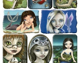 Brand New Release Tanya Bond Portrait Stickers from Violette Stickers