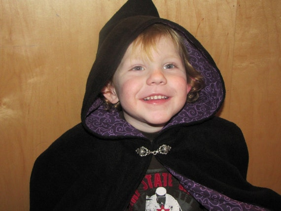 Wizard Fancy Dress Boys Cloak