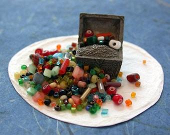Vintage Beads, Vintage Venetian Seed Beads, Vintage Seed Bead Mix, Vintage Seed Beads, Mixed Vintage Beads, Vintage Bead Repair VB-005
