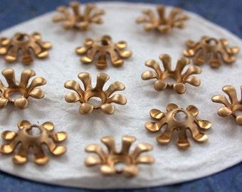 Flowers, Vintage Style,Supplies,Scrap booking,Collage,Craft Supplies,Jewelry Supplies,Made in USA,Wedding Supplies,Brass Flowers, STA-089