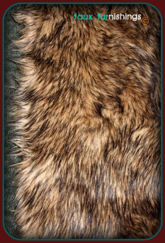 Unavailable listing on etsy - Faux animal skin rugs ...