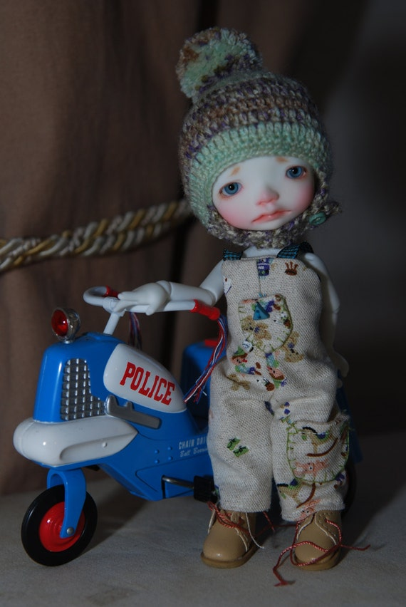 A Real Boy:  BJD Tiny outfit for Irreal Doll Ino Enyo and similar