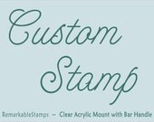 29.95  - Customized Personalized Etsy Design - RemarkableStamps
