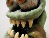 Rat Fink (Finky) latex head