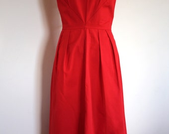 Gorgeous Vintage Red Party Dress