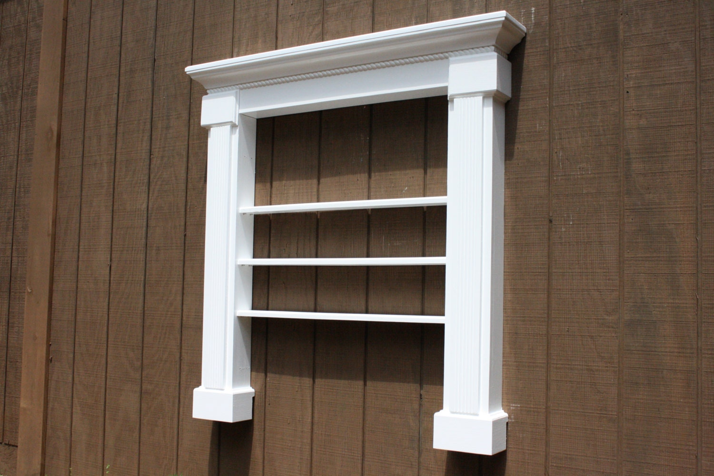 faux fireplace mantel shelf book shelf by rayscustomwoodwork