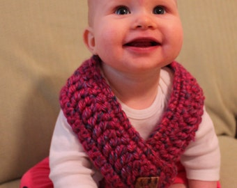 SALE Pink Baby Cowl -- Pashmina -- Scarf -- Shall