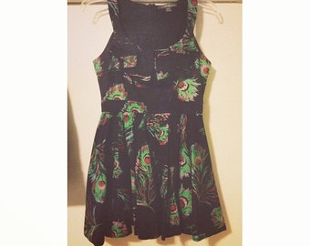 SALE Vintage Paisley Floral Babydoll Dress XS/S (2 for 15 dollars deal)