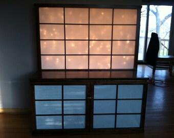 Raijin 4' Cabinet w/ Shoji Backsplash
