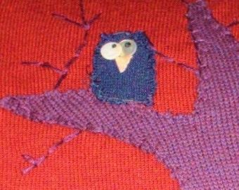 Hooty Owl Pillow