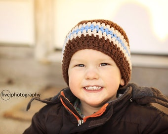 boys hat, crochet boys hat, baby hat, crochet hat for boys, little boy hat
