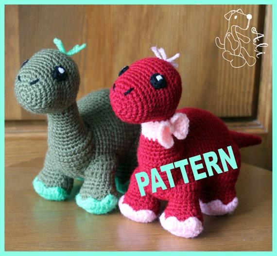 Crochet Dinosaur Pattern In Pdf
