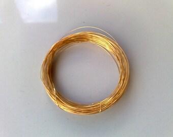 925 sterling silver wire 30 gauge vermeil
