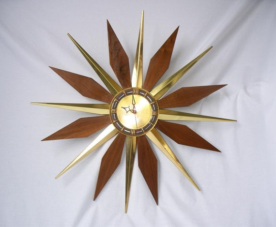 Sale Treasury Item Mid Century Modern Starburst Sunburst