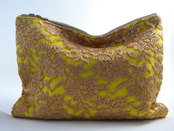 LAST ONE - Sunshine Laced Statement Clutch