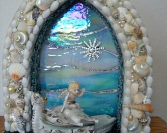 Sea of Love Mosaic Angel Shrine