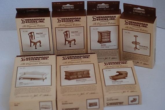 Shenandoah Doll House Furniture Miniatures Kit by