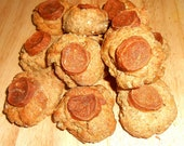 Dog Treats Chicken  Cookies -  Gourmet Treats - Dozen -  Fresh Baked -  Natural Chicken