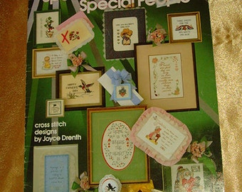 Cross Stitch Pattern Book:  Special Days Special People cross stitch Leisure Arts 238