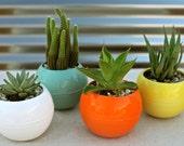 Bubble ceramic planter