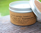 Remembrance- Rosemary - 8 oz Soy Candle