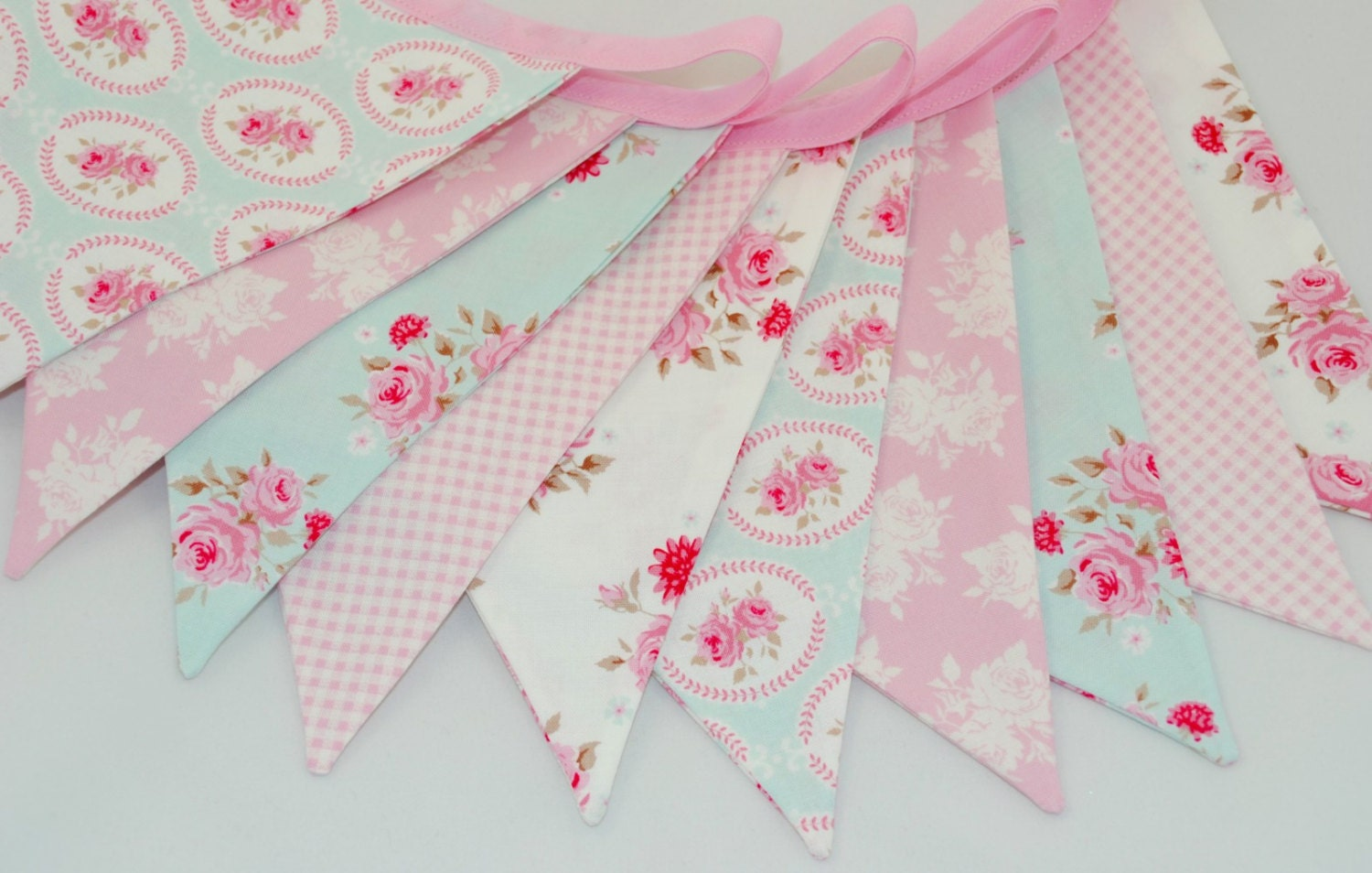 shabby chic bunting - photo #1