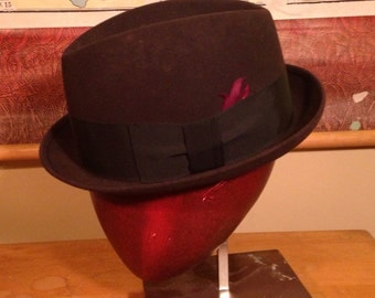 Child Size Vintage Fedora from Bond Fifth Avenue