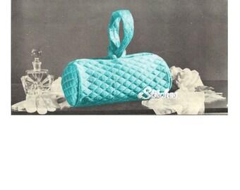 Vintage Bag, Single Handle, Day or Night  - Sewing pattern PDF 7465