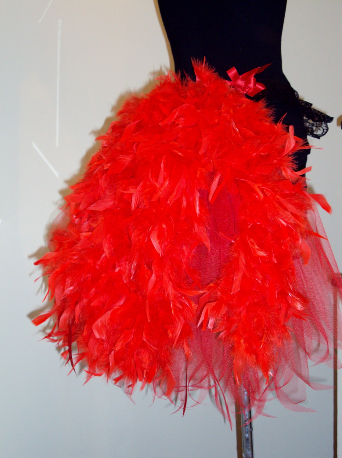 how to make a feather bustle burlesque