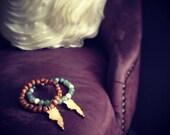 Olive wood St.Croix bracelet