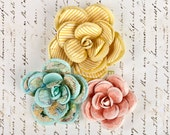 Divine Large Paper Flowers for Scrapbooking and Paper Crafts by Prima Marketing 565275