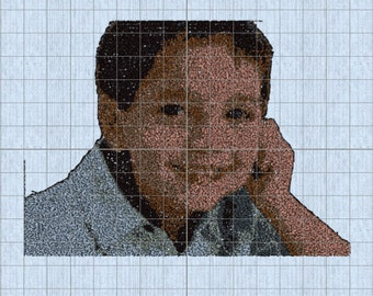 Photo Portrait Embroidery Digital File-From your photo.