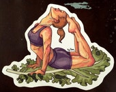 Fridge Magnet: Fitspirational Kale