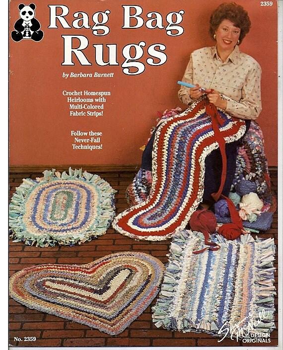 Rag Bag Rugs Crochet Pattern Suzanne Mcneille Design Originals