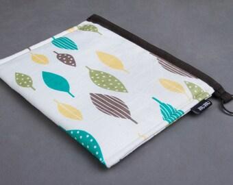 iPad mini Case, Cotton/Padded. Leaf.