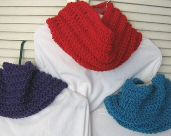 Cowl neck warmer-10 colors