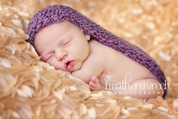 Baby Pod, Photography Cocoon Prop, Little Lilac Purple, OVERSTOCK SALE