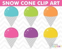 80% OFF SALE Summer Clipart, Clipart Snow Cones, Digital Summer, Ice Cream Clip Art, Shaved Ice, Ice Cream, Clipart, Clip Art