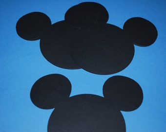 """Mickey Mouse Die Cuts in 5"""" size (20)"""