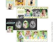 INSTANT DOWNLOAD - Facebook Timeline Cover Collection - Easter timelines - E736