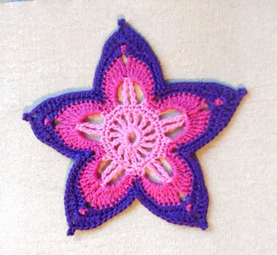 Crochet Flower Pattern Pdf Crochet Pattern Crochet
