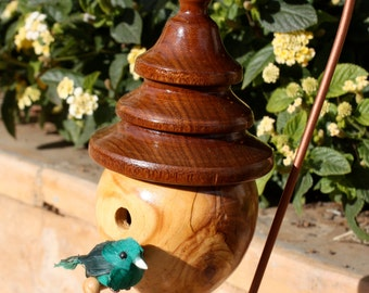 Tiered Roof Birdhouse HD13