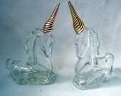 Vintage Avon Unicorn figurine Perfume Bottles
