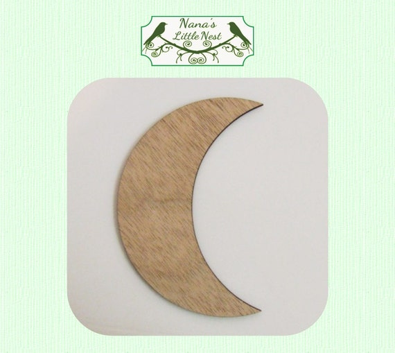 f2ca743b1 Free Download Best Star Outlines On Cresent Moon Template: Crescent Moon  Medium Wood Cut Out Laser Cut
