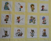 Child's Embroidered Quilt