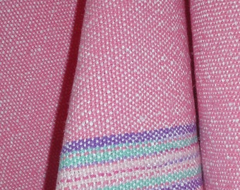 Not So Pink Handwoven Kitchen Towel